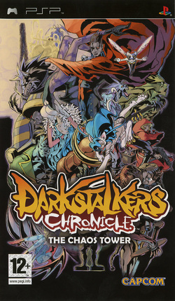 telecharger gratuitement Vampire Chronicle The Chaos Tower(Darkstalkers Chronicles : The Tower of Chaos)